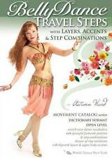 BellyDance Travel Steps with Layers, Accents & Step Combinations (DVD, 2011)