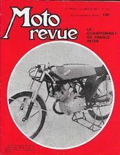 MOTO REVUE . N° 1575 . 20 janvier 1962 . Championnat de France inter 1961 .