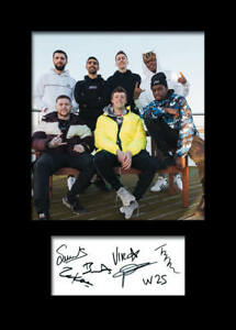 Sidemen KSI #3 Signed Photo A5 Mounted Print - FREE DELIVERY