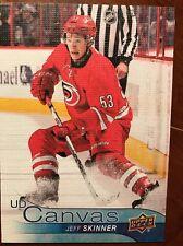 2016-17 UD Hockey Series 1 UD Canvas Jeff Skinner #c17