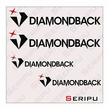 X4 PEGATINAS DIAMONDBACK ADHESIVO RECORTE STICKERS DECAL MOUNTAIN BIKE BICI