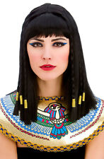 égyptienne Cléopatre Perruque NEUF - Carnaval perruque cheveux