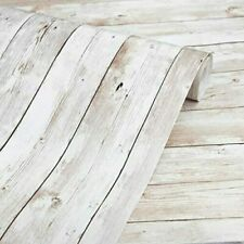"""Wood Wallpaper 17.7 X 118"""" Self-Adhesive Removable Wood Peel and Stick Wallpaper"""