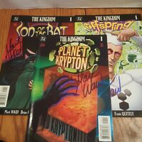 The Kingdom: Son of Bat 1, Offspring 1, Planet Krypton 1  Hand Signed Mark Waid