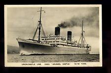 LS1845 - Union Castle Liner - Arundel Castle - postcard