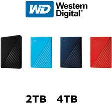 Western Digital WD My Passport 2TB 4TB Portable External Hard Disk Drive USB 3.0