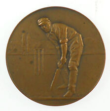 Great Britain CRICKET By Pinches thin embossed bronze 38mm