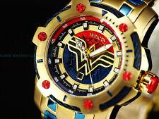 New Invicta DC Comics Wonder Woman Scuba Bolt Hybrid Ltd.Ed. Red/Blue/Gold Watch