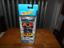 HOT WHEELS, SURF'S UP 5 CAR PACK, JEEP CJ-7, CUSTOM VW BEETLE, ...    NIP, 2017