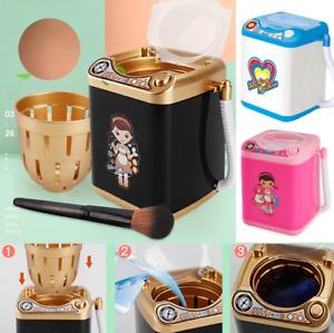 Mini Washing Machine Makeup Brush/Sponge Automatic Cleaner Wash Toy Mini Beauty
