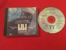LES MAÎTRES DU ROMANTIQUE LAC DES CYGNES MOZART BACH LA REDOUTE BON ÉTAT CD