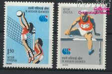 India 1061-1062 unmounted mint / never hinged 1986 Sports (8882738