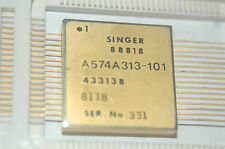 SINGER A574A313-101 Rare Collectable Gold Integrated Circuit New Quantity-1