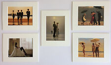 "'The Classics Selection' by Jack Vettriano Set of 5 Mounted Art Prints 10"" x 8"""