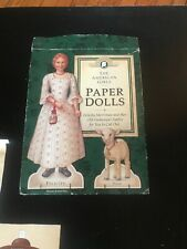 The American Girls Collection Pastimes: Felicity's Paper Dolls, Used