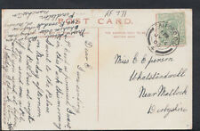 Family History Postcard - Eperson - Whatstandwell, Nr Matlock, Derbyshire RF771