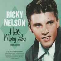 RICKY NELSON - HELLO MARY LOU - THE COLLECTION - 2 CDS - NEW!!