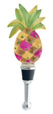Hospitality Southern Pineapple Wine Bottle Stopper Resin 5 Inches