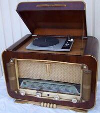 Röhrenradio DESMET mit Plattenspieler von DUAL