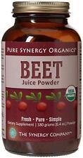 The Synergy Company Beet Juice Powder 180g Sealed Best Price UK Seller Free P&P