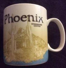 NWOT 2011 Starbucks Phoenix Desert Cactus Icon Series Collectors Coffee Mug