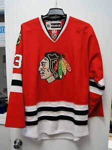Reebok NHL Hockey Chicago Blackhawks Michael Jordan 23 Red Jersey Size 54 C3485