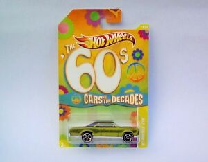 HotWheels Diecast Cars of the Decades (The 60's) '67 PONTIAC GTO - NEW - Sealed