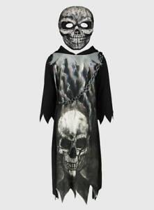 BRANDNEW AND UNWORN ( BLACK GRIM REAPER - HALLOWEEN FANCY DRESS )  COSTUME
