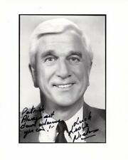 LESLIE NIELSEN Autographed Signed Photograph - To Patrick GREAT CONTENT