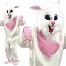 ADULT EASTER BUNNY RABBIT MASCOT COSTUME MASK FANCY DRESS