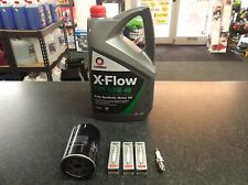 VW NEW BEETLE 1.8T 20V SERVICE KIT OIL FILTER & NGK SPARK PLUGS 5 LITRES XFLOW