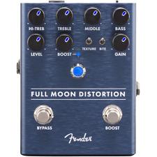 Fender Full Moon High-gain Distortion Effect Guitar Pedal