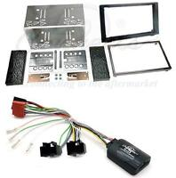 Connects2 Single//Double Din Kit inc amp retention Jeep Compass 07-08