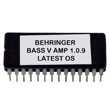 Behringer BASS V-AMP Version 1.0.9 Upgrade Firmware Upgrade Eprom OS for VAMP