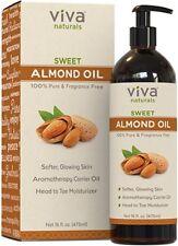 Aceite De Almendras Dulces 100% Puro Y Natural Cuidado De La Piel Y El Cabello