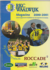 RKC Waalwijk Presentatiegids Magazine 2000-2001
