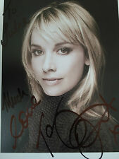 Large Hand Signed Photo Tamzin Outhwaite Eastenders,New Tricks
