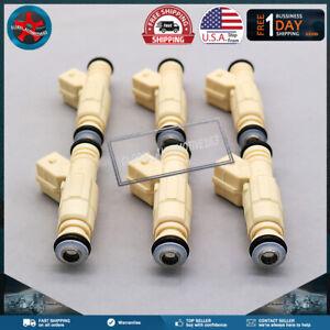 0280155737 Fuel Injectors Set of (6) 36lb  For GM Buick Pontiac 3.8L