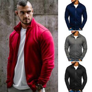 Sweatshirt Sweatjacke Pulli Pullover Classic Sport Herren BOLF 1A1 Basic