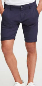 New Mens Guess Chino Blue Shorts Waist 30 £29.99 Or Best offer RRP £59