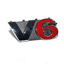 ORIGINAL VW Schriftzug Emblem V6 VW Golf 1J6853679E GQF NEU
