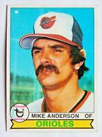 Mike Anderson #102 Topps 1979 Baseball Card (Baltimore Orioles) VG