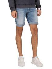 Replay Herren neue Anbass 573 Bio Denim Shorts, blau