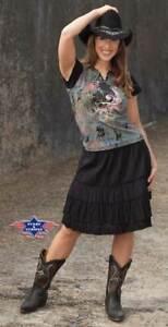 Rock Sandy, schwarz, Western, Country, Ausverkauf, neu, Gr. XL - Preishammer