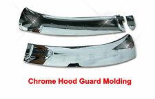 Chrome Hood Guard Protector Trim For Hyundai  iMAX / Grand Starex (2007~on)///