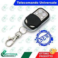 TELECOMANDO PER CANCELLO AUTOMATICO UNIVERSALE A 433,92 MHZ CAME,BFT ETC