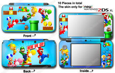 Super Mario Bros Classic Skin Vinyl Sticker Cover Decal for NEW Nintendo 2DS XL