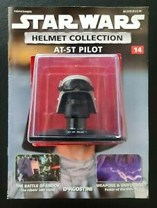 """Star Wars Helmet """"AT-ST Pilot"""" Issue 14 """"Deagostini"""" Collection"""