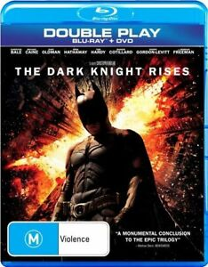 The Dark Knight Rises Bluray Region B_DVD & Special Features Disc_3-Disc Set