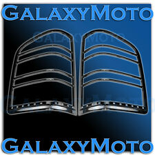 07-13 Chevy Silverado 1500+2500+3500+HD Gloss Black Taillight Trim Bezel Cover